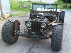 1947 Willys CJ2A Jeep Rat Rod