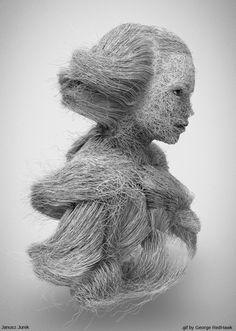GIFs looping lindamente infinitas criada por um artista legalmente cego - My Modern Met