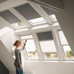 Dit is de dakkapel/dakserre van Velux die we in ons hoofd hebben. Omdat ons dak heel schuin loopt kunnen we vrij ver onder de schuine kant komen rechtopstaand. Een dakkapel levert dan geen extra meerwaarde op. We vinden het mooi dat de ramen in 2 rijen zitten.