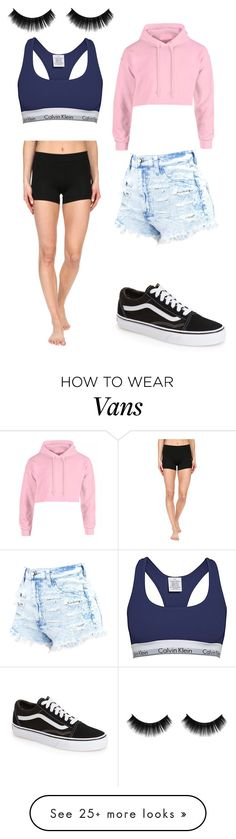 """Untitled #2446"" by slayyeettia on Polyvore featuring adidas, Vans and Calvin Klein"
