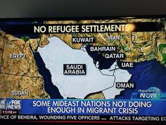 Five Wealthiest Muslim Nations REFUSE Syrian Refugees – Fear Terrorism  Jim Hoft Sep 7th, 2015
