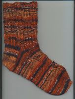 Treasures Made From Yarn: Alternating Rib Sock on 64 Stitches