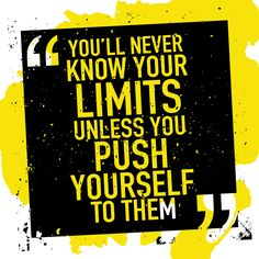 You've seen this quote hundreds of times but it's true. If you want to reach your goals you have to push yourself to the limits. #noexcuses #motivation