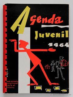 Agenda juvenil 1964, una mirada vocacional hacia el futuro-  El Desván de Bartleby C/.Niebla 37. Sevilla