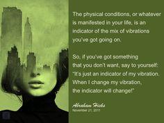 #abrahamhicks #vibrations #indicator