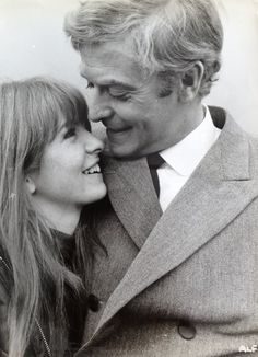 Jane Asher & her dad.