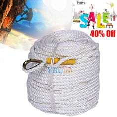 #60/90m safety #climbing rock sling #rappelling rope auxiliary cord equipment new,  View more on the LINK: 	http://www.zeppy.io/product/gb/2/191910041584/