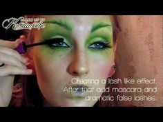 Poison Ivy / Forest elf / look / tutorial / make-up for Halloween 2011