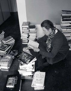 I knew he loved books.