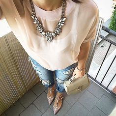 Snow White Statement Necklace  #fashion #style #ootd #chic #statementnecklace - 24,90   @happinessboutique.com