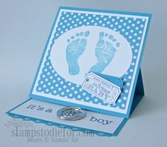 Easel Card, Technique How To Series, Stampin' Up!