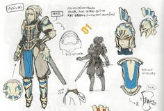 Fire Emblem: Awakening Concepts - Female Paladin