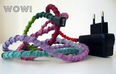 Crochet revamped phone charger