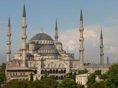 Byzantine Architecture, Mosque Architecture, Turkish Architecture, Architecture Portfolio, Sultan Ahmed Mosque, Ottoman Turks, Blue Mosque, Hagia Sophia, Ottoman Empire