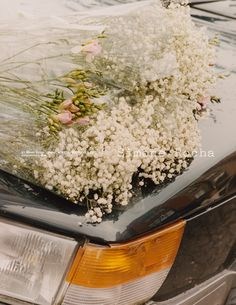 Flowers and Cars campaign for Simone Rocha. A different image from the series in…