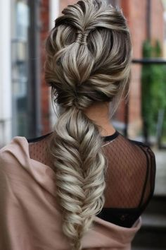 Double & Infinity Braids ❤ #lovehairstyles #hair #hairstyles #haircuts Date Hairstyles, Half Updo Hairstyles, Graduation Hairstyles, Holiday Hairstyles, Homecoming Hairstyles, Formal Hairstyles, Straight Hairstyles, Twist Ponytail, Belleza Natural