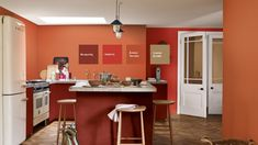 Spiced Honey - Dulux Colour of the Year 2019 Dulux Kitchen Paint Colours, Kitchen Colors, Kitchen Design, House Painting Colour Combinations, Paint Color Schemes, Benjamin Moore Colors, Benjamin Moore Paint, Terra Cotta Paint Color, Murs Oranges