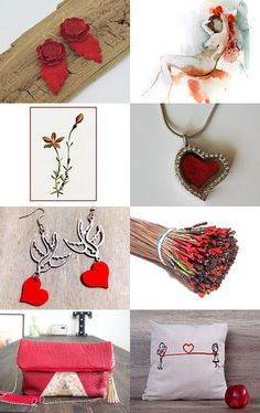 Red by Marilyn on Etsy--Pinned+with+TreasuryPin.com