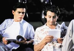 SOUL MAN, from left: C. thomas Howell, Arye Gross, 1986 | Essential Film Stars, Arye Gross http://gay-themed-films.com/film-stars-arye-gross/