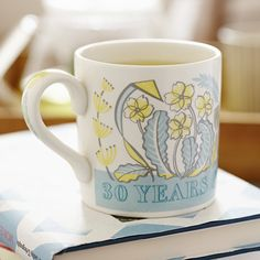 Help us celebrate Country Living's 30th birthday with this exclusive, limited edition mug by Angie Lewin. Available now: http://www.countryliving.co.uk/news/country-living-angie-lewin-mug