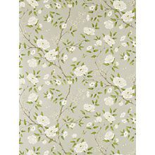 Discover the Zoffany Romey's Garden Wallpaper - Silver at Amara Garden Wallpaper, Home Wallpaper, Wallpaper Roll, Wallpaper Wallpapers, Painting Wallpaper, Print Wallpaper, Fabric Wallpaper, Zoffany Wallpaper, Painted Rug