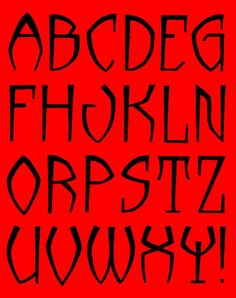 Showcase - ábécé Alphabet Symbols, Typography Alphabet, Typography Fonts, Doodle Lettering, Lettering Styles, Abc Font, Stencil Font, Pyrography Patterns, Printable Letters