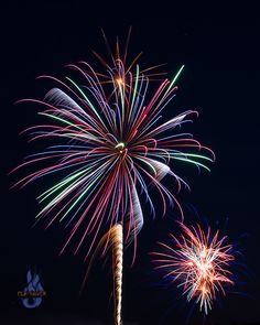 My 1st shot at 4th of July Fireworks. © Flashover Photography