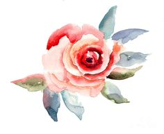 Pretty. Love the water color tattoos. Link leads to this art print