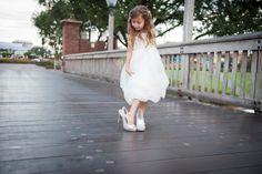If the shoe fits… #Disney #wedding #flower #girl