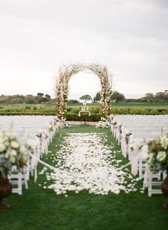 Beautiful Arch  Style Me Pretty | Gallery | Picture | #629841
