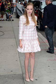 Las mejor vestidas de la semana - Amanda Seyfried - Balmain