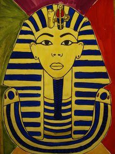a faithful attempt: King Tut Egyptian Portrait