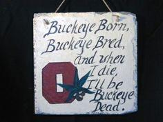 Ohio State OSU sign Ohio State Buckeyes  Buckeyes  by kpdreams, $20.00 craft-ideas #kendrascott #teamKS