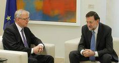 Rehn: 'Rajoy muestra que está totalmente comprometido con cumplir sus objetivos'