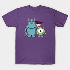 Monster Mates T-Shirt - Monsters, Inc. T-Shirt is $13 today at TeePublic!