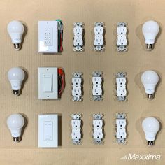 Deck your house out with these outlets, switches and bulbs!
