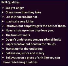 INFJ qualities