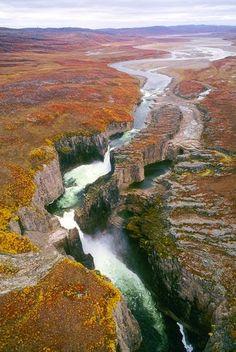 Our Earth, Wilberforce Falls, Nunavut, Canada