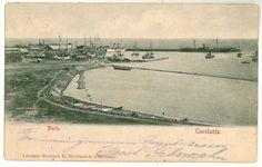 Constanta - Portul - 1902 Louvre, Memories, Spaces, Travel, Vintage, Historia, Viajes, Destinations, Traveling