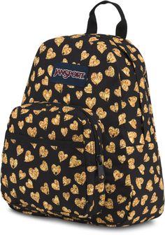 JanSport Half Pint Backpack, Glitter Hearts Mochila Jansport, Jansport Superbreak Backpack, Half Pint, Glitter Hearts, Cool Backpacks, Backpack Bags, School Supplies, Vera Bradley, School Stuff