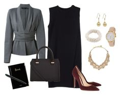 """successful manageress"" by monika1555 on Polyvore"