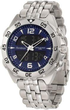 Armitron Men's 20/4814BLSV Analog-Digital Blue Dial Silver-Tone Bracelet Watch Armitron, http://www.amazon.com/dp/B007G3PJ3M/ref=cm_sw_r_pi_dp_B0cirb0CHPZZT