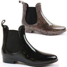 Zapatos de mujer. shoeFashionista - Botas Botines De Agua Lluvia Zapatos Para Mujer Tama