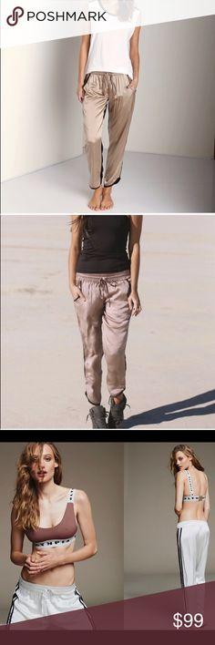 90ff0f0a1b NWOT Olympia Activewear Lux 100% Silk Joggers NWOT Olympia Activewear Lux  100% Silk baby