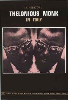 Thelonious Monk In Italy Riverside Jazz Poster 24x36 – BananaRoad