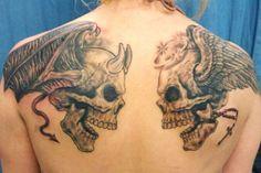 8dd13bd9f 22 Best Star Tattoo For Men Good Vs Evil images in 2017 | Tattoo for ...