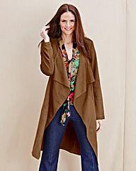 JOANNA HOPE Mock-Suede Jacket #Oxendales #fashion #Ireland #style