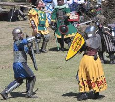 Female Armored Combat Fighters SCA :: Sir Mari Alexander image by isabellaevangelista - Photobucket