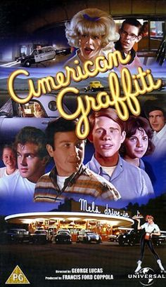 American Graffiti (1973) Set in 1962, I moved to Modesto in 1964 and this was so accurate of life then. What great memories!