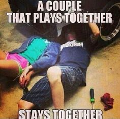 A couple that plays together stays together